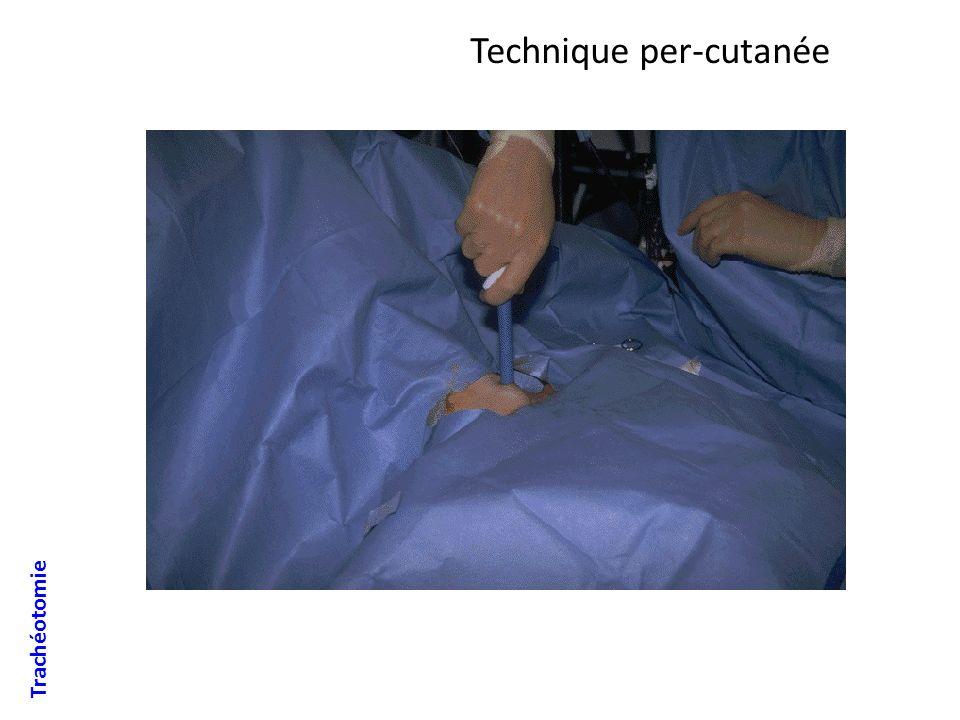 Technique per-cutanée