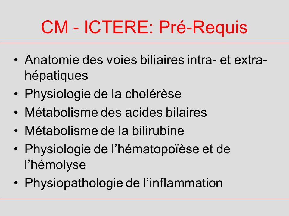 CM - ICTERE: Pré-Requis