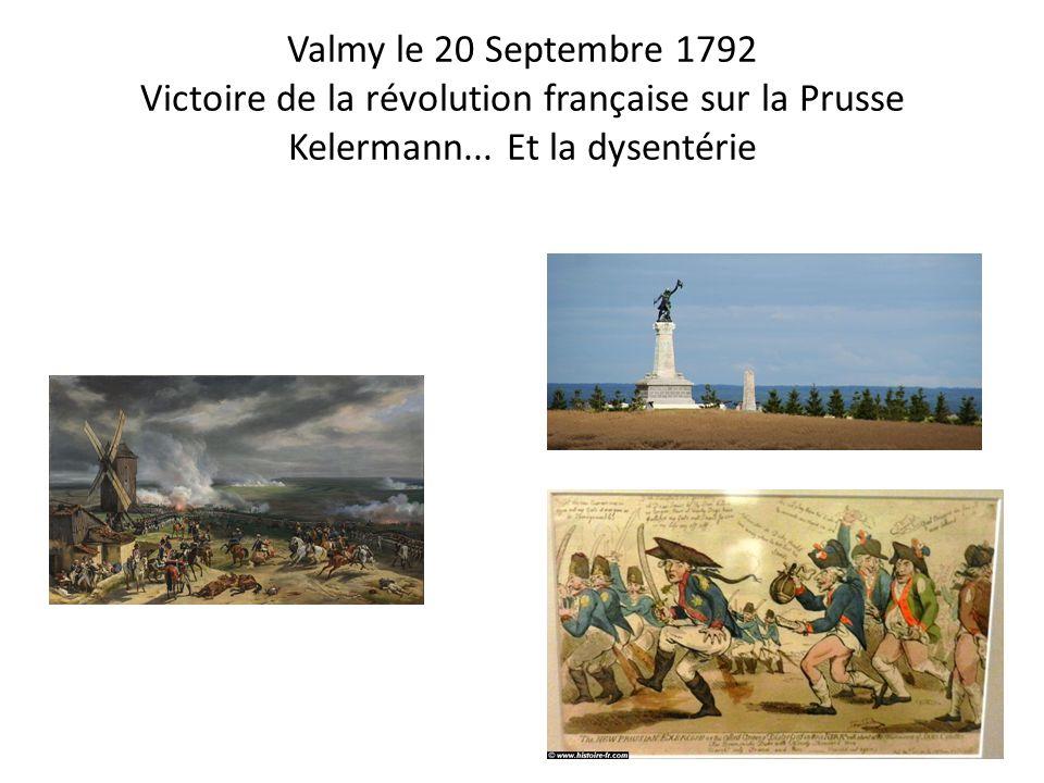 Valmy le 20 Septembre 1792 Victoire de la révolution française sur la Prusse Kelermann...