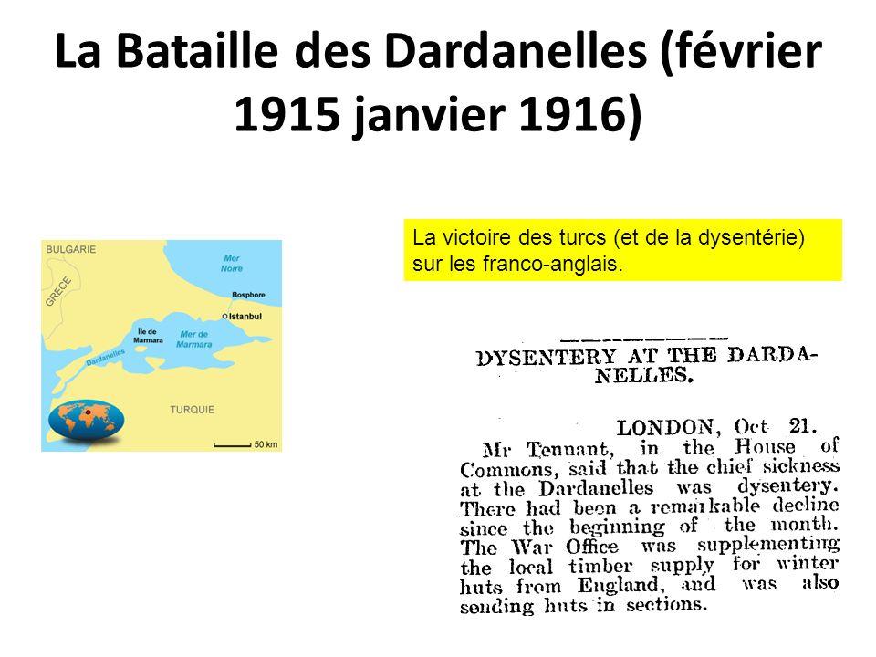 La Bataille des Dardanelles (février 1915 janvier 1916)