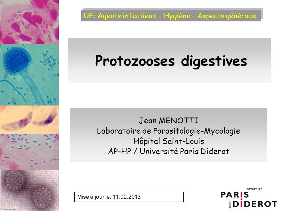 Protozooses digestives