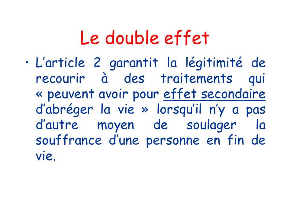 Le double effet