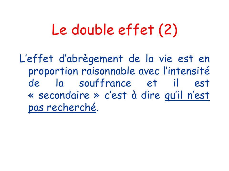 Le double effet (2)