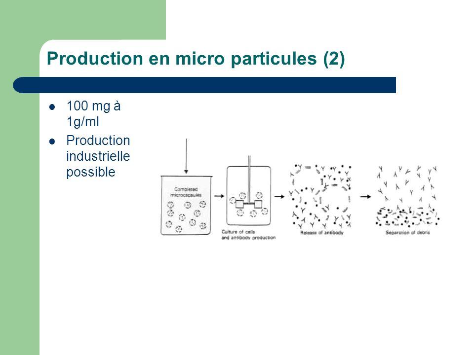 Production en micro particules (2)