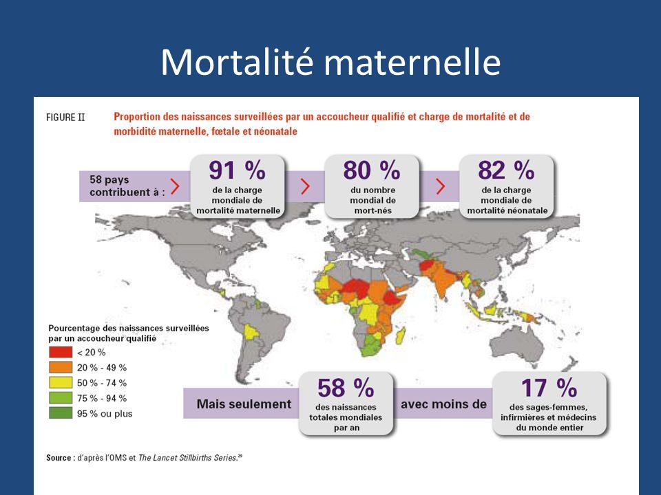 Mortalité maternelle