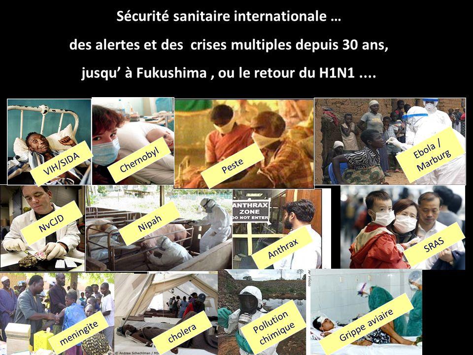 Sécurité sanitaire internationale …