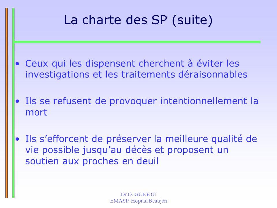 La charte des SP (suite)