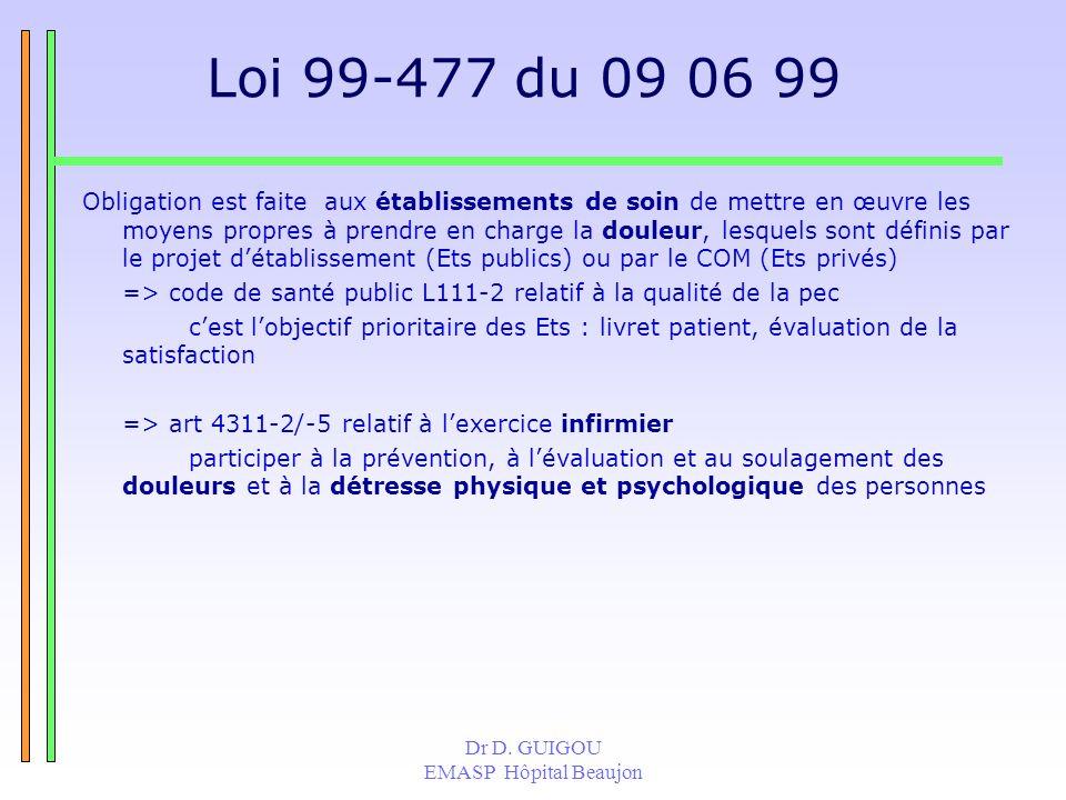 Loi 99-477 du 09 06 99