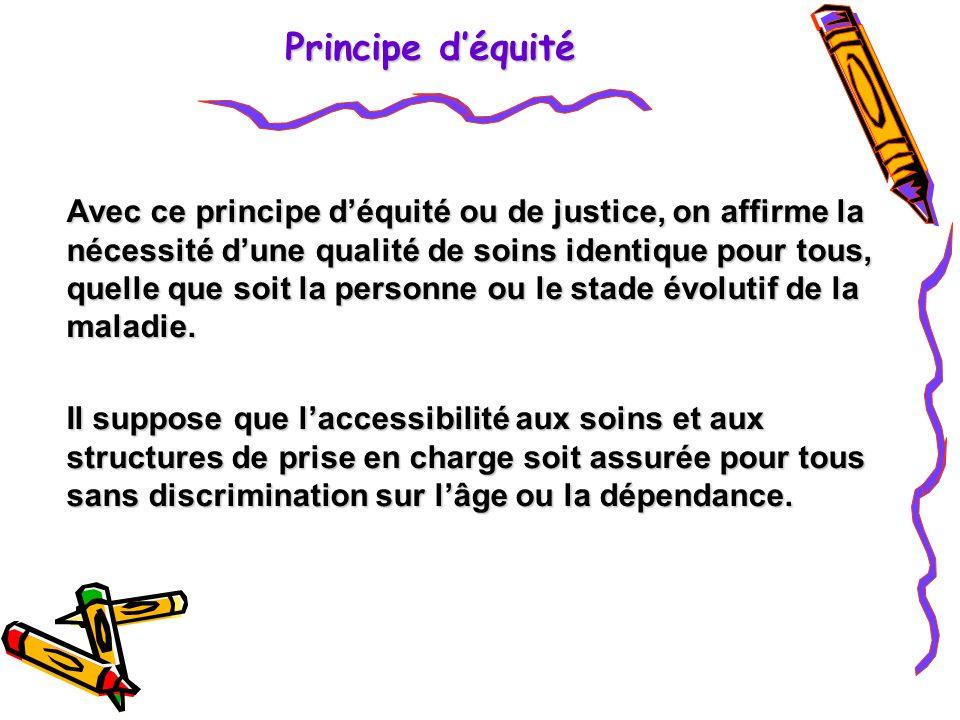 Principe d'équité