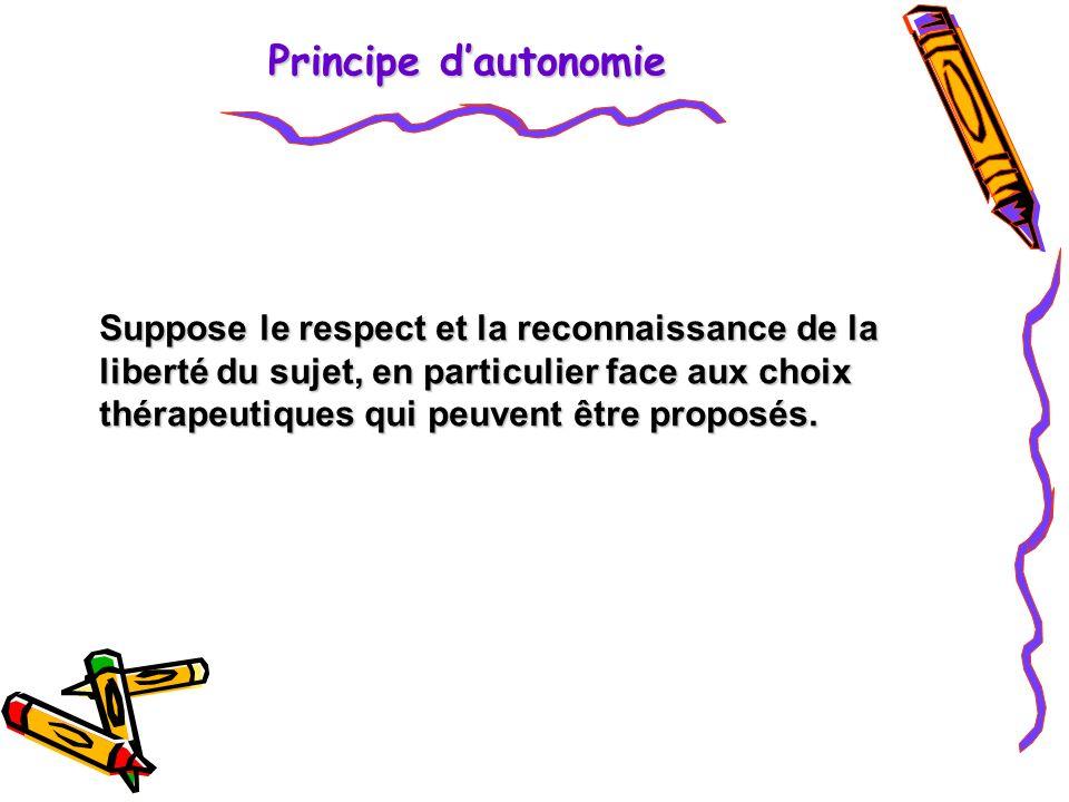 Principe d'autonomie