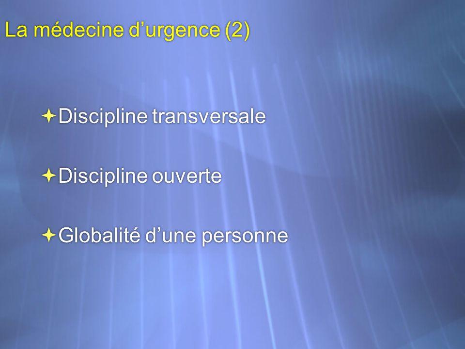 La médecine d'urgence (2)