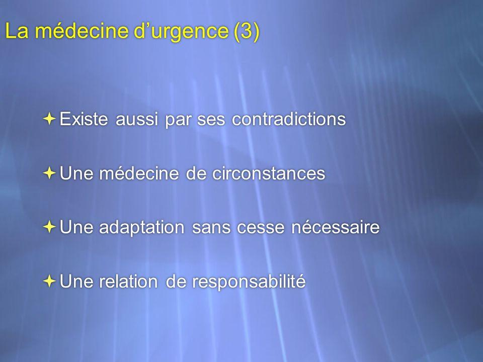 La médecine d'urgence (3)
