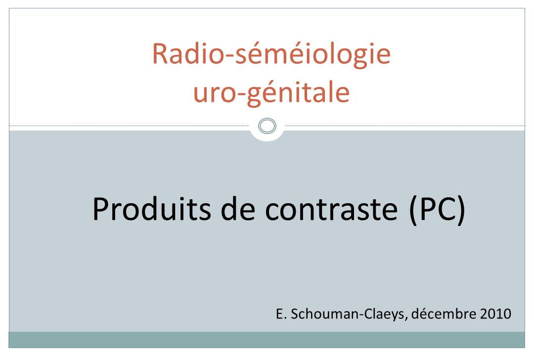 Radio-séméiologie uro-génitale