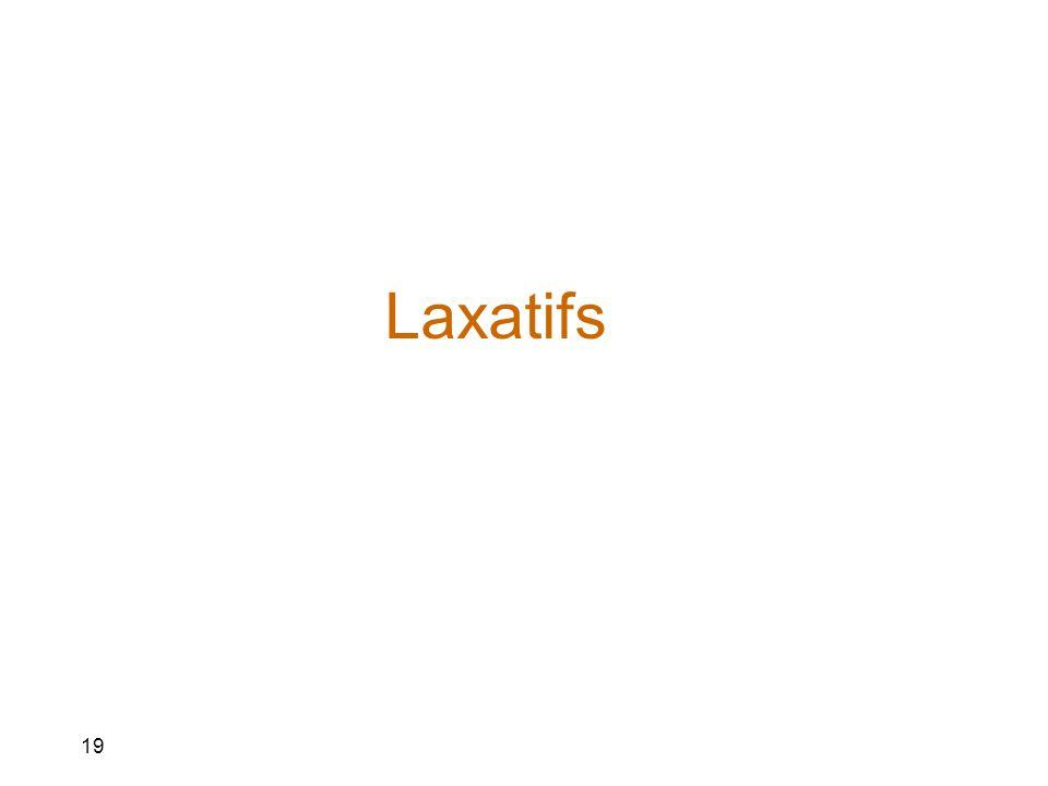 Laxatifs 19