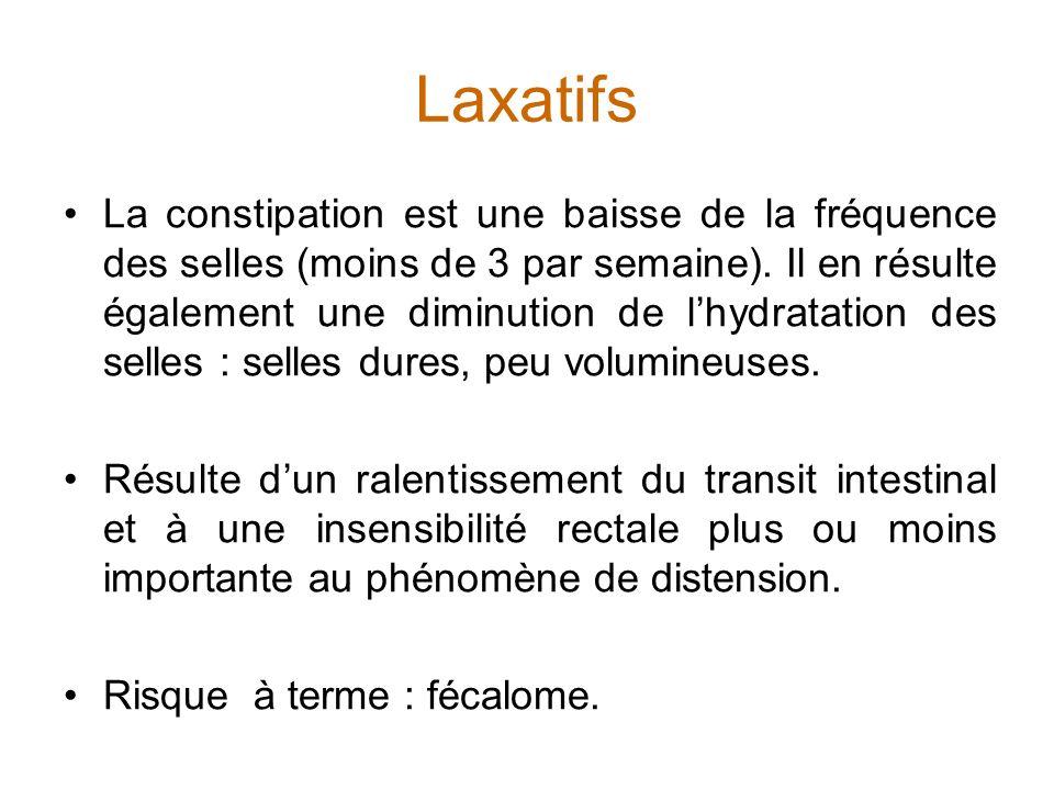 Laxatifs