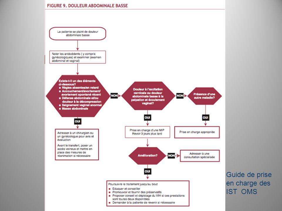 Guide de prise en charge des IST OMS