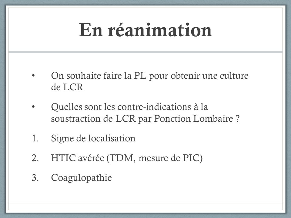 contre indication ponction lombaire pdf