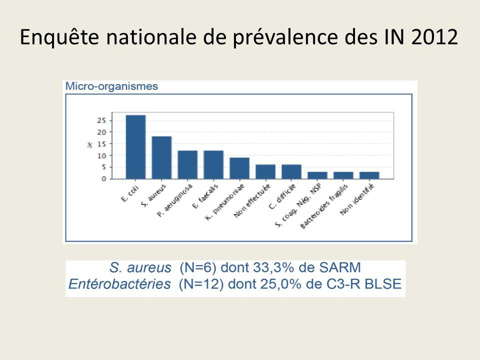 Enquête nationale de prévalence des IN 2012