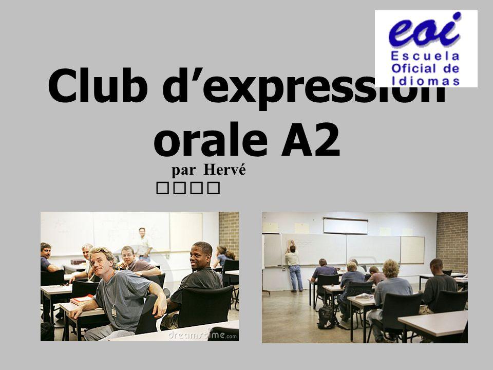 Club d'expression orale A2