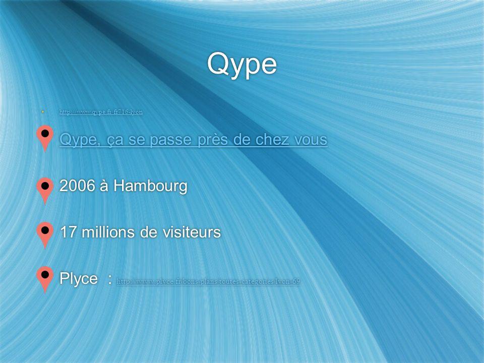 Qype Qype, ça se passe près de chez vous 2006 à Hambourg