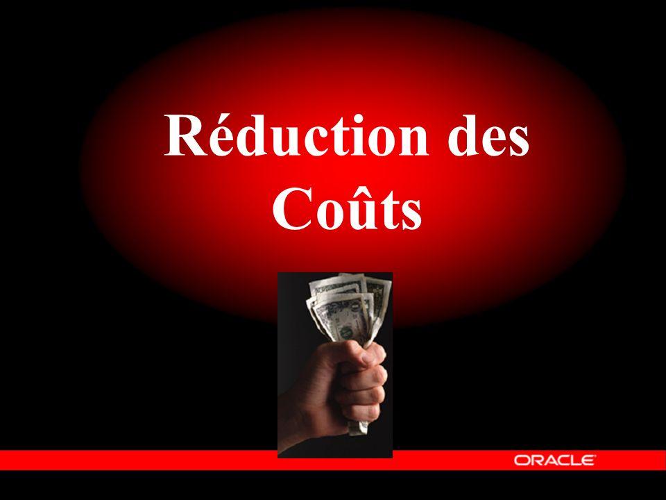 Réduction des Coûts Le quatrième élément d'Oracle Information Architecture est « Personnalisable ».