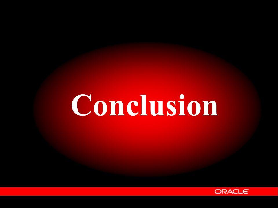 Conclusion En résumé, ce qu'il faut retenir d'Oracle Information Architecture.
