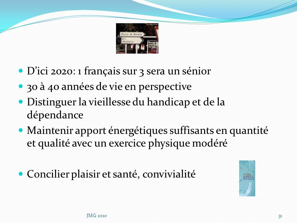 D'ici 2020: 1 français sur 3 sera un sénior