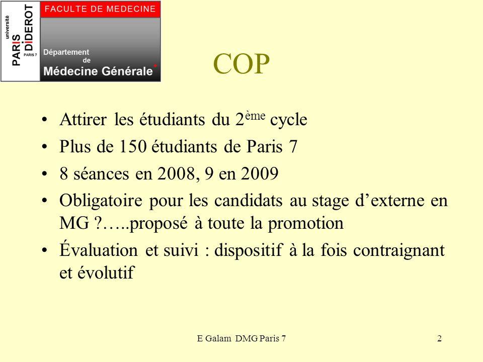 COP Attirer les étudiants du 2ème cycle