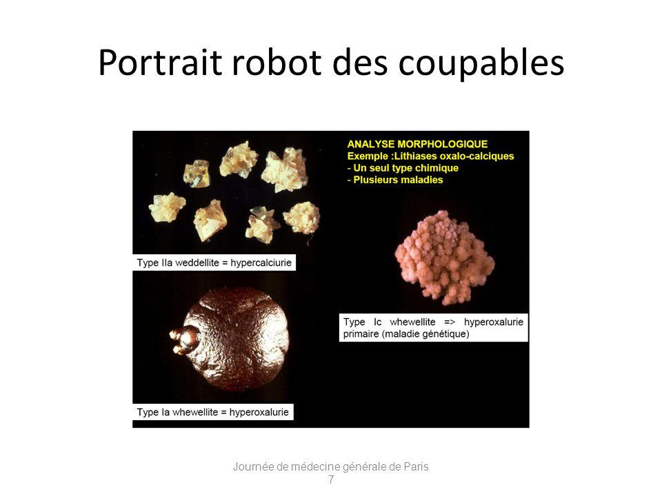 Portrait robot des coupables