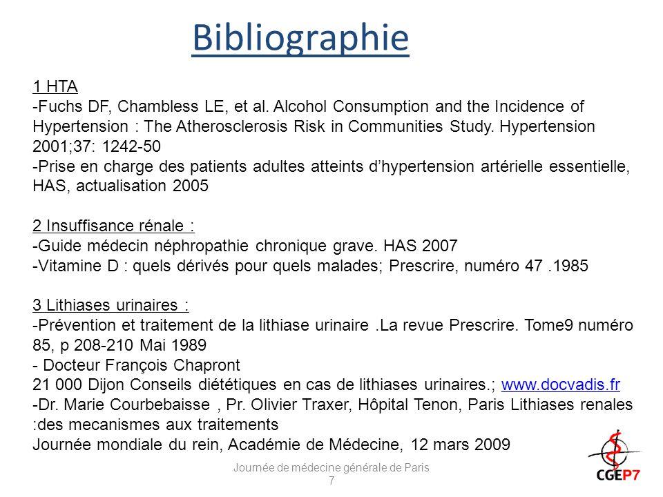 Journée de médecine générale de Paris 7
