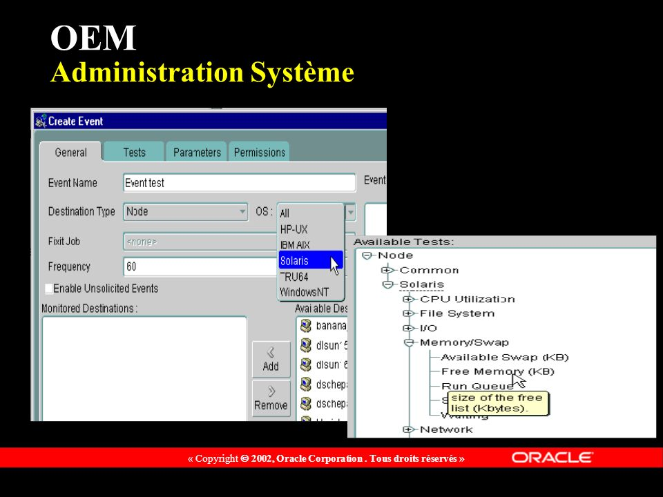 OEM Administration Système