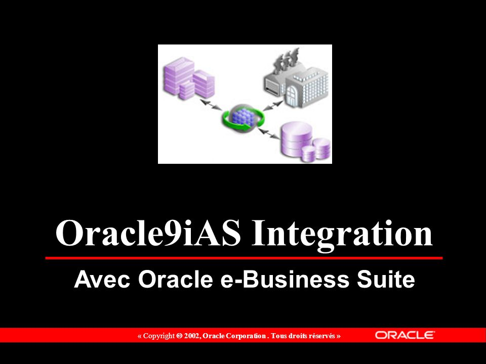 Oracle9iAS Integration Avec Oracle e-Business Suite