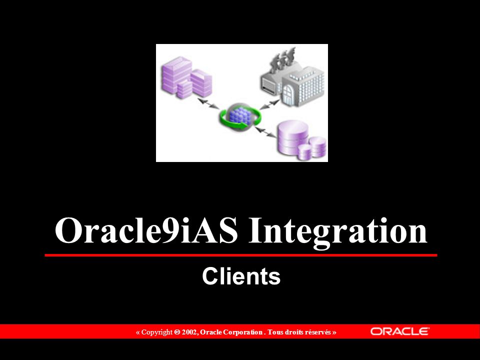 Oracle9iAS Integration