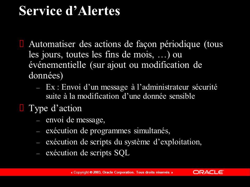 Service d'Alertes
