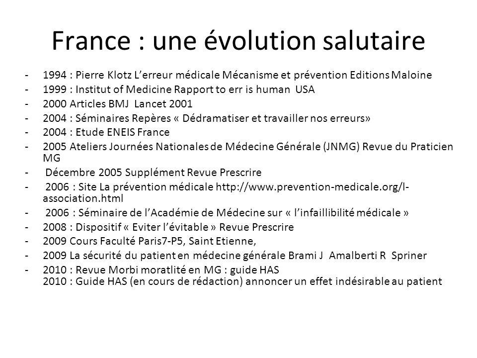 France : une évolution salutaire