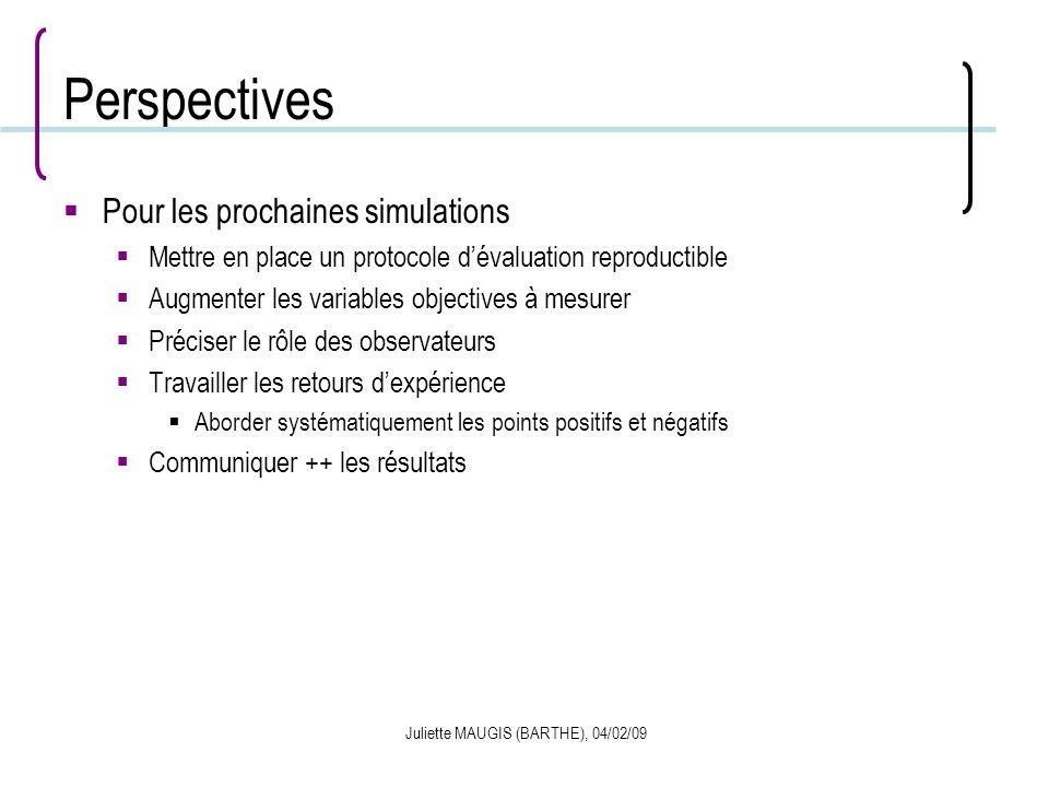 Juliette MAUGIS (BARTHE), 04/02/09