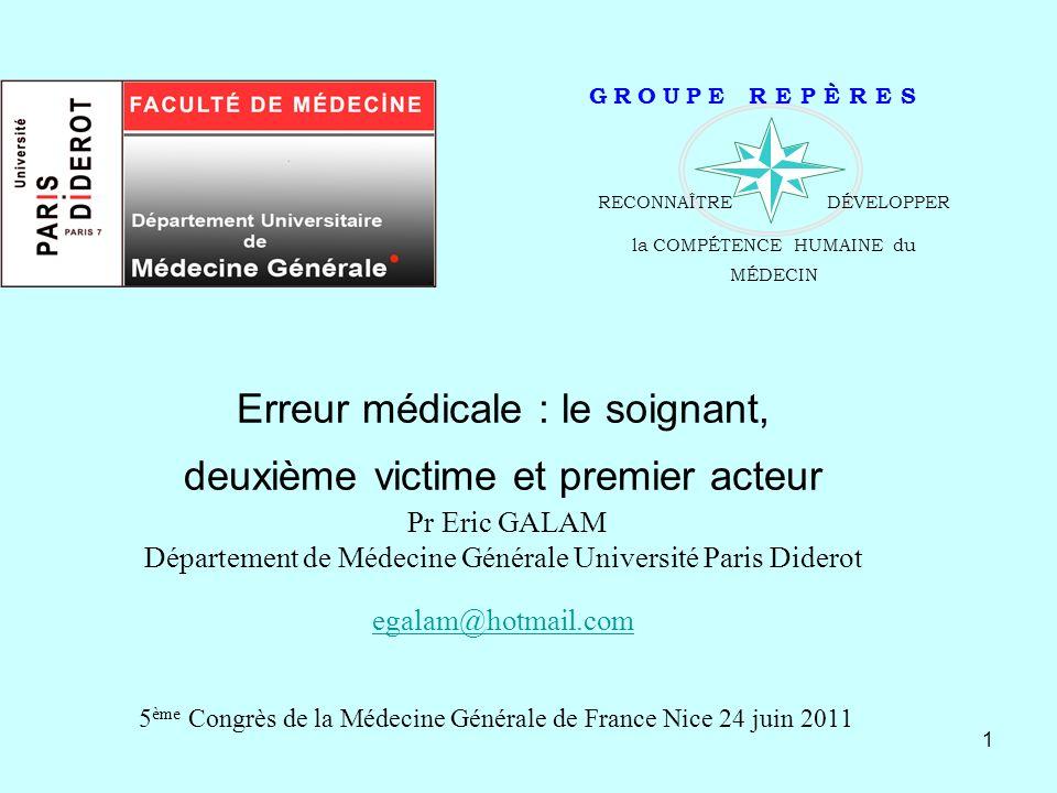 5ème Congrès de la Médecine Générale de France Nice 24 juin 2011