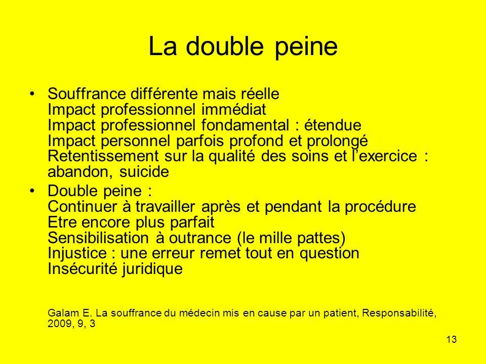 La double peine