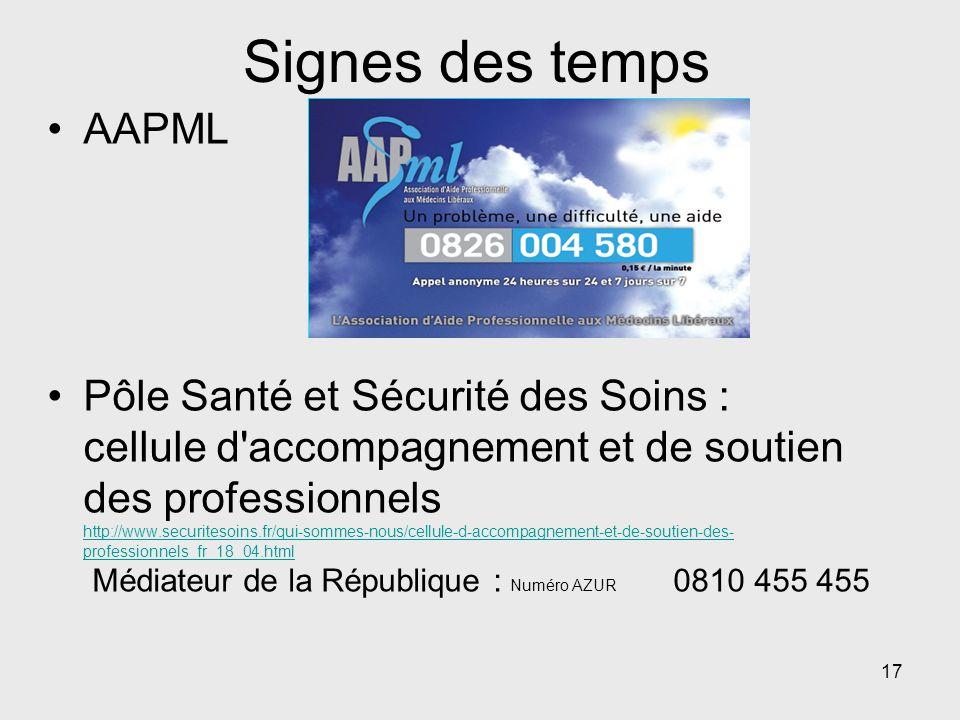 Signes des temps AAPML.