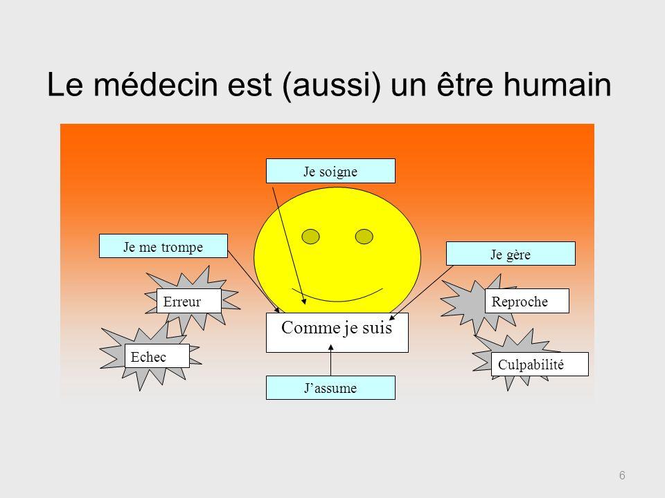Le médecin est (aussi) un être humain