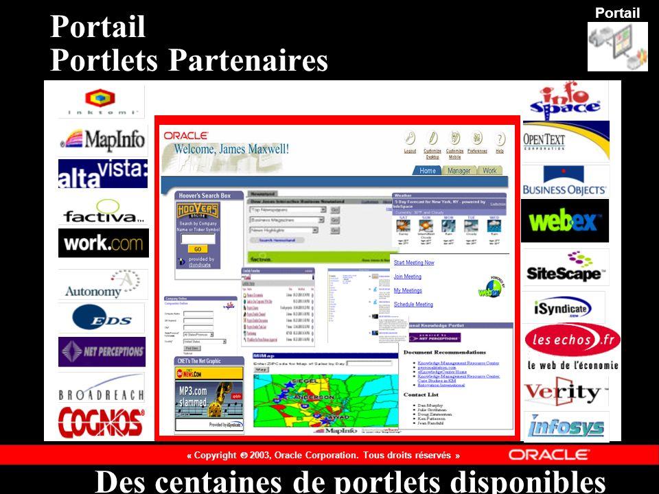 Portail Portlets Partenaires