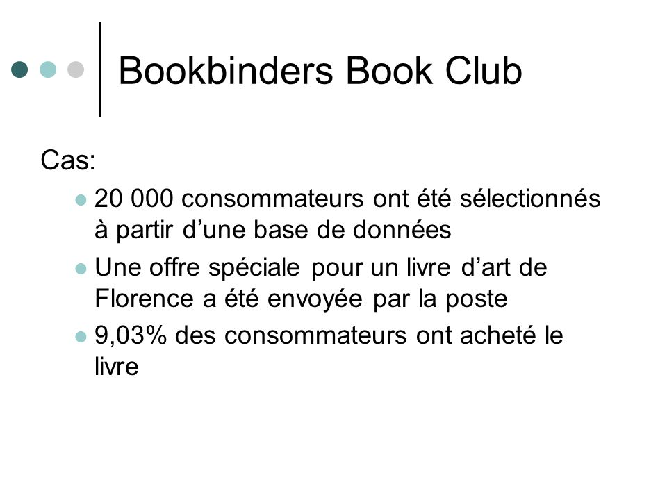 Bookbinders Book Club Cas:
