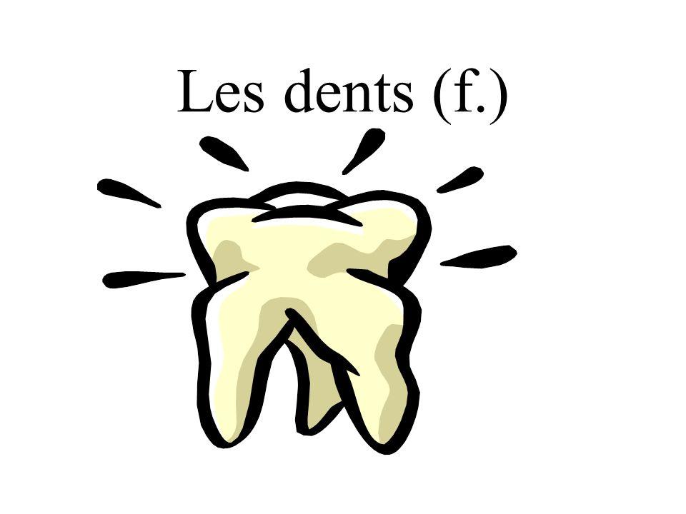 Les dents (f.)