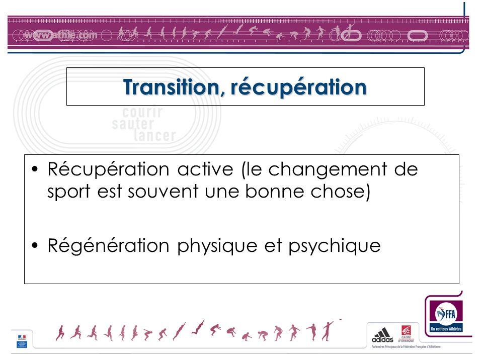 Transition, récupération