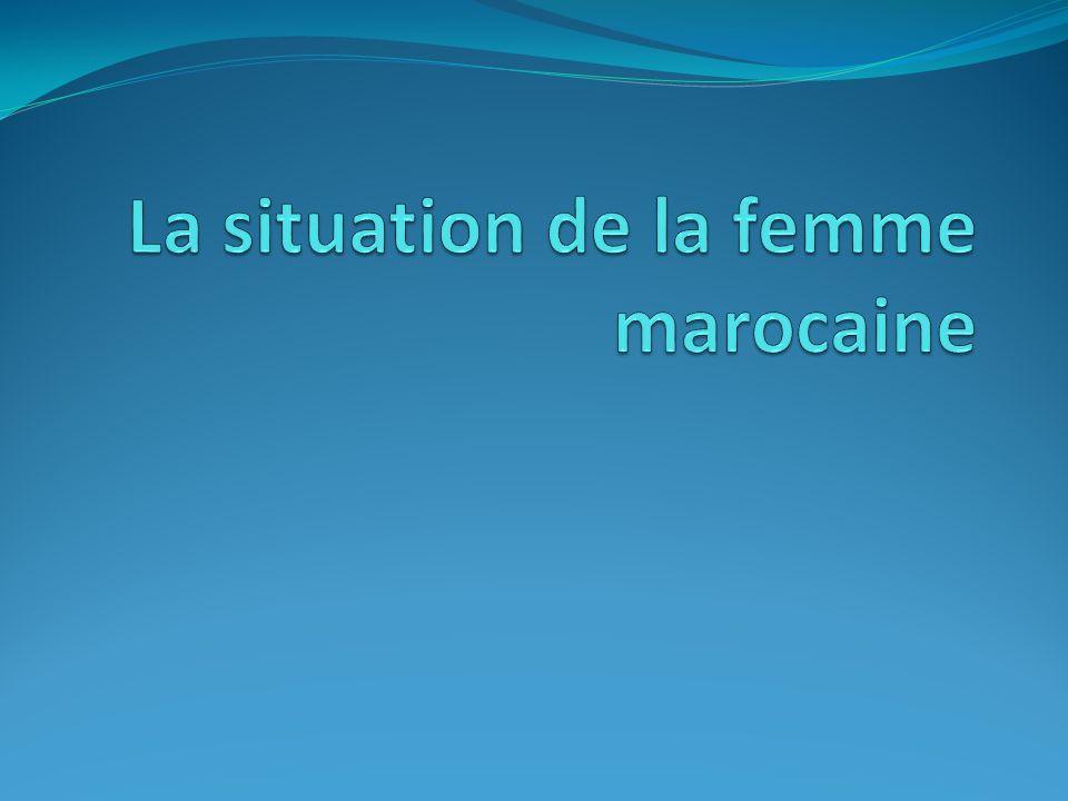La situation de la femme marocaine