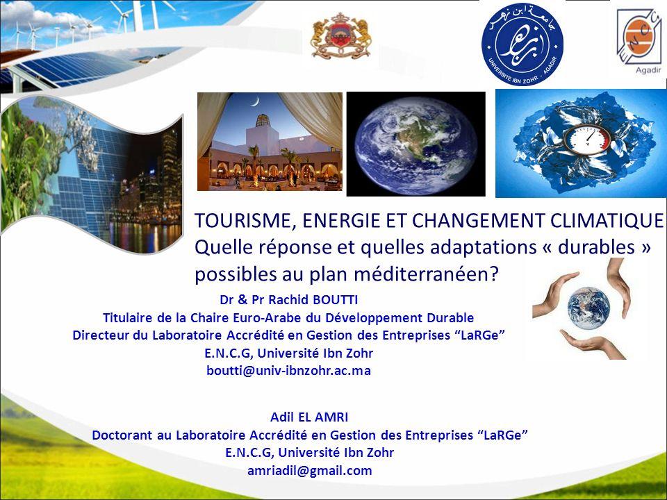 TOURISME, ENERGIE ET CHANGEMENT CLIMATIQUE