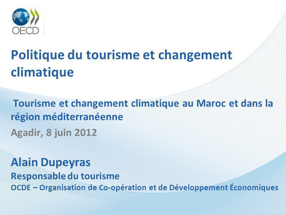 Politique du tourisme et changement climatique