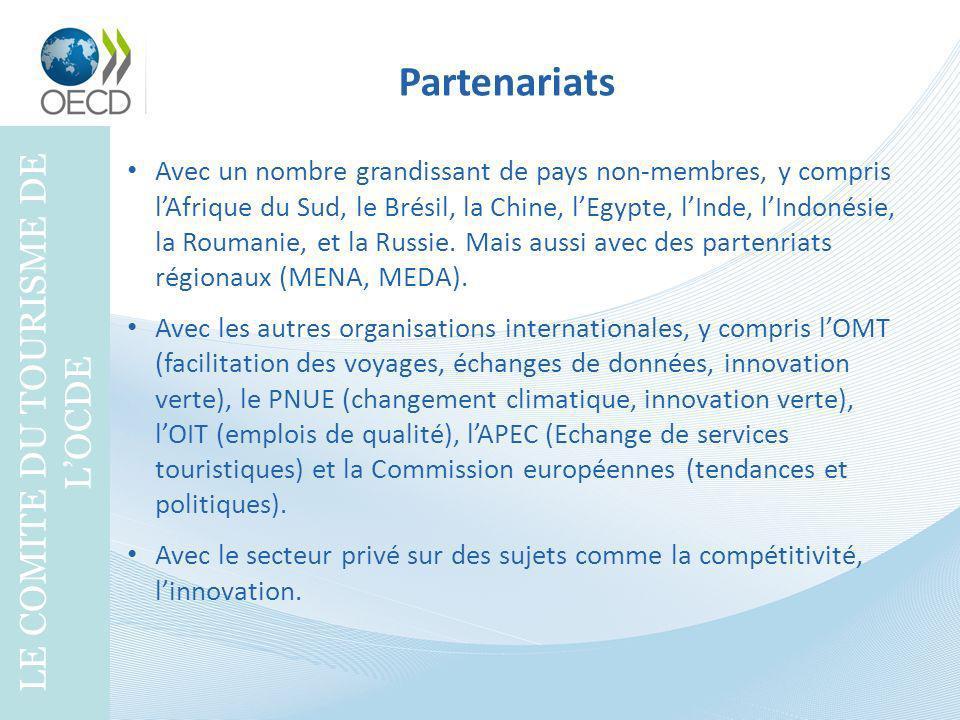 LE COMITE DU TOURISME DE L'OCDE