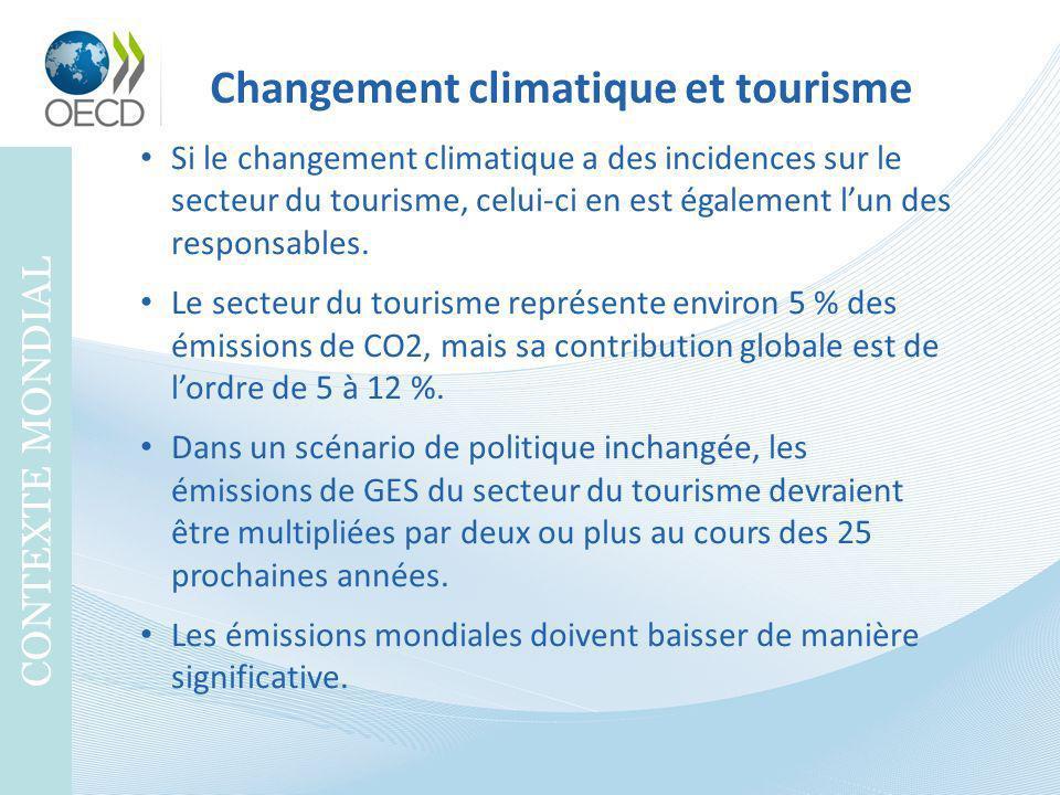 Changement climatique et tourisme