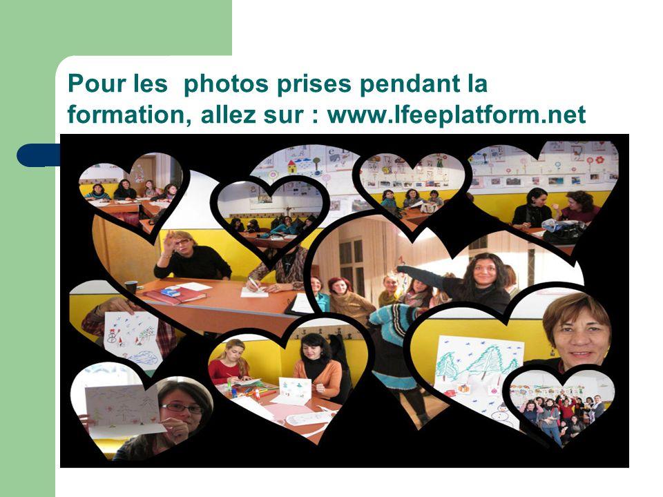 Pour les photos prises pendant la formation, allez sur : www